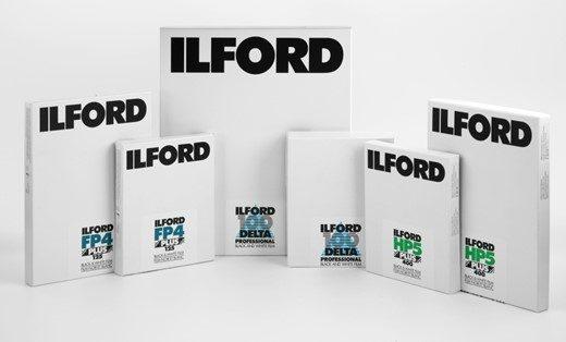 Película en hojas Ilford Photo