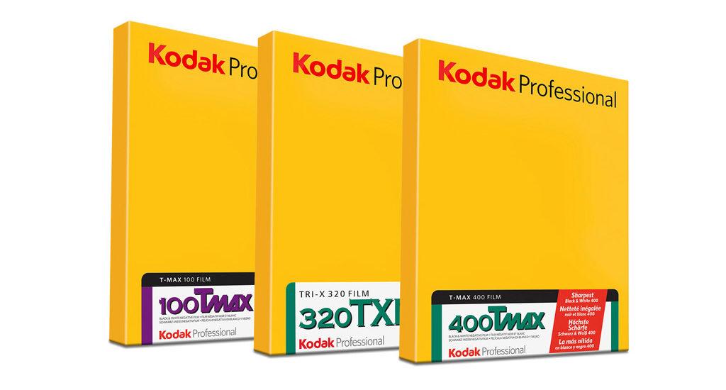 Película en hojas Kodak Profesional ByN