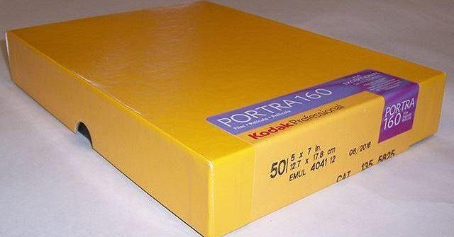 """Película Kodak Portra 160 5x7"""""""