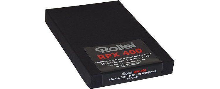 """Rollei RPX 400 4x5"""""""