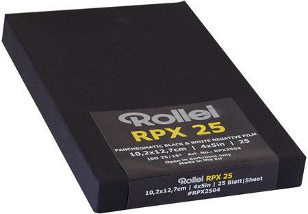"""Rollei RPX 25 4x5"""""""
