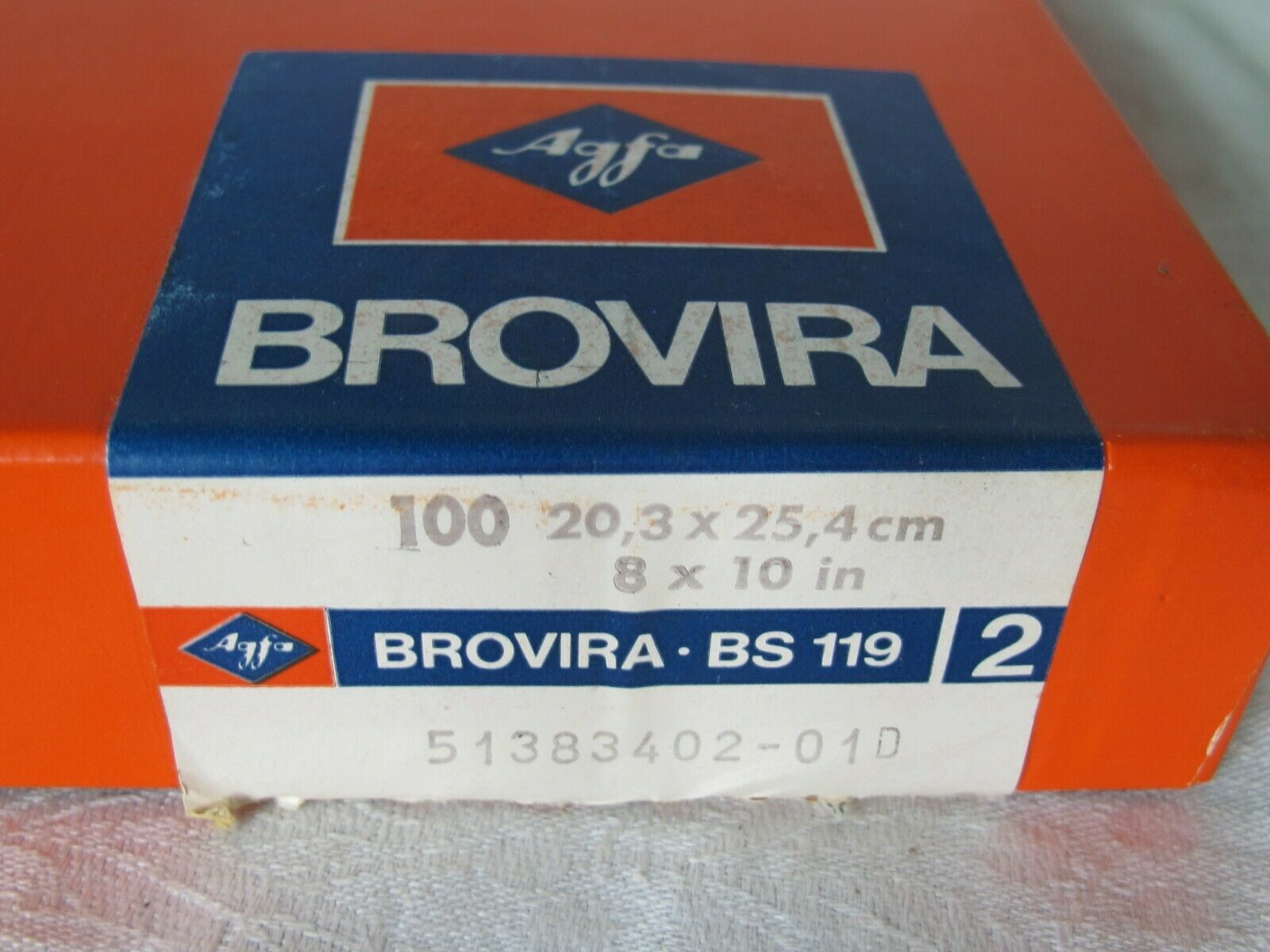 "Agfa Brovira BS119 8x10"""